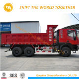 18cbm 수용량을%s 가진 Hongyan Genlyon 6X4 25ton 팁 주는 사람 트럭