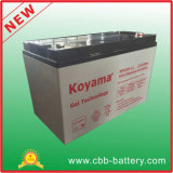 Batteria acida al piombo del gel dell'OEM 12V 100ah