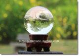 Modernes, simples cristal transparent Bille de verre