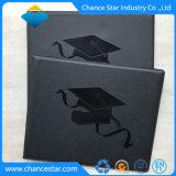 Kundenspezifischer PU-Diplom-Deckel, Diplom-Halter, Diplom-Faltblatt, Diplom-Rahmen