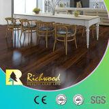 ビニールの板8.3mm E0 HDFの寄木細工の床のヒッコリーの積層物の木製の木のフロアーリング