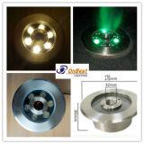 Luz da fonte do diodo emissor de luz do diodo emissor de luz 9W do RGB da alta qualidade em IP68