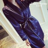 """Pijamas de seda Sy10309601 das mulheres """"sexy"""" do Nightwear da roupa de noite das senhoras da roupa interior"""