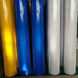 7 ans de PMMA de poteau de signalisation de recouvrement r3fléchissant prismatique de couleur de pente bleue d'ingénierie