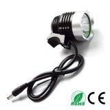 T6 10W 1200lm 크리 사람 LED Headlamp
