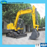 La Chine excavatrice chenillée machinerie de construction de taille moyenne pour la vente