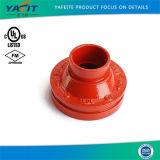 La norme ASTM A536 en fonte ductile réducteur concentriques rainuré DIN