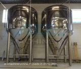 3000L, 4000L, 5000L, бак заквашивания ферментера пива 100hl конический