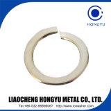 DIN127 de la Chine fabricant de la rondelle ressort standard en acier au carbone