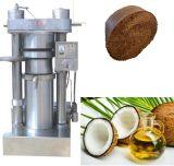 Petite presse d'huile de noix de coco avec le bon résultat