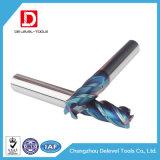 Venta al por mayor del molino de extremo del cuadrado del carburo de la flauta de la alta precisión 4