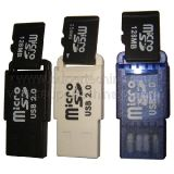 Lecteur de carte USB Micro SD (S1a-8001d