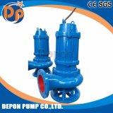 Pompe à eau encrassée submersible centrifuge