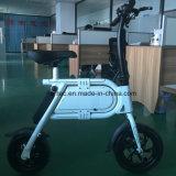 Mini vélo électrique, E-Vélo se pliant, bicyclette de 12inch E