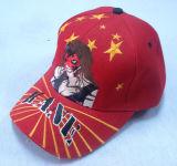 Red Casquette de baseball avec étiquette tissée Appliquebb226