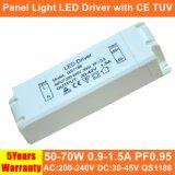 50-70W Hpf изолированных внешний светодиодный индикатор блока питания с маркировкой CE TUV QS1186