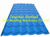 Le découpage suivant à grande vitesse a glacé le roulis de tuile de toiture formant le roulis de feuille de toit de machine formant la machine