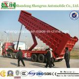 3 de Semi Aanhangwagen van de Vrachtwagen van de Kipper van de Leverancier van China van de as 40FT