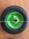 Bauernhof bearbeitet heißen Verkaufs-Schubkarre-Reifen 4.00-8 mit Eisen-Felge