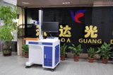 Máquina de grabado ULTRAVIOLETA de la máquina de la etiqueta de plástico del laser del CNC para el vidrio/cerámica