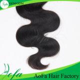 Atacado Indian Remy Virgin Hair Extensão de cabelo humano ondulado