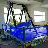 Paseos fantásticos de los niños del oscilación de la máquina de juego del patio de la fábrica de China para el patio al aire libre (K177)