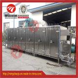 De industriële Drogende Machine van de Riem van het Voedsel van de Hete Lucht van de Groente & van het Fruit