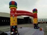 Arco inflável para venda, arco de publicidade colorido