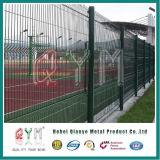 Clôture métallique Panel/ galvanisé recouvert de PVC Treillis Soudés Clôture