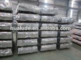 Aço Galvanzied telhas onduladas de folhas de alumínio de zinco