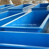 El FRP Piscifactoría de plástico de fibra de vidrio Pecera /Square Pecera