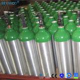 小型空気小さい携帯用アルミニウムシリンダー酸素のガスポンプ