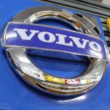 Signe de logo de véhicule de chrome d'ABS de la publicité extérieure pour Volvo