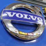 Volvo를 위한 옥외 광고 아BS 크롬 차 로고 표시