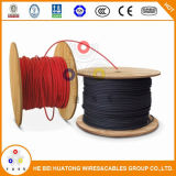 Сертификат UL UL 2кв типа используйте-2 медных или алюминиевых проводников PV провод кабеля