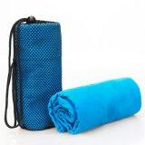 En casa plegable ejercicio Pilates Mat de Yoga Toalla de microfibra