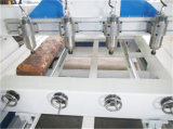 Gute Qualität billig 4 Mittellinie 3D hölzerne CNC-Fräser-Maschine