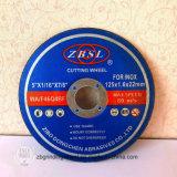 Inox-180X1.6X22.2のための研摩の切断ディスク