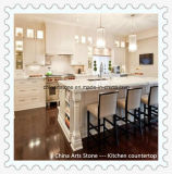 Granite poli, marbre, pierre de quartz de comptoir pour la cuisine et salle de bains