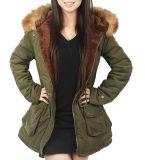 Xiaolv88 Колпачковая теплую одежду Parkas женщин с эффектом велюра меховые жакеты