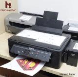 T-shirt léger Papier de transfert de chaleur en papier de transfert pour le coton