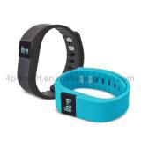 Водонепроницаемый Bluetooth Smart силиконовый браслет с фитнес-Tracker Tw64