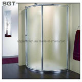 Glace extra claire de douche durcie par fer inférieur pour la salle de bains