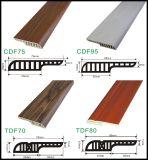 Plancher avec plinthe 18mm d'écart pour les planchers laminés