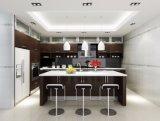 Cuisine design personnalisé de style moderne de haute brillance armoire de cuisine en bois