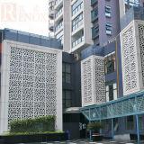 Perforiertes Aluminiumpanel für im Stadtzentrum gelegene/Außenwand-Dekoration