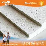 Soundproof techo acústico Azulejos de techo de fibra Panel / Mineral