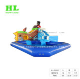 水公園のスライド膨脹可能な水おもちゃのプール