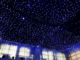4m het LEIDENE van de Breedte van de Hoogte X8m Gordijn van de Ster met Witte en Blauwe Lichten