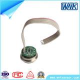 Clear, Non-Corrosive Gas 및 Liquid를 위한 확산된 Silicon Oilless Pressure Sensor
